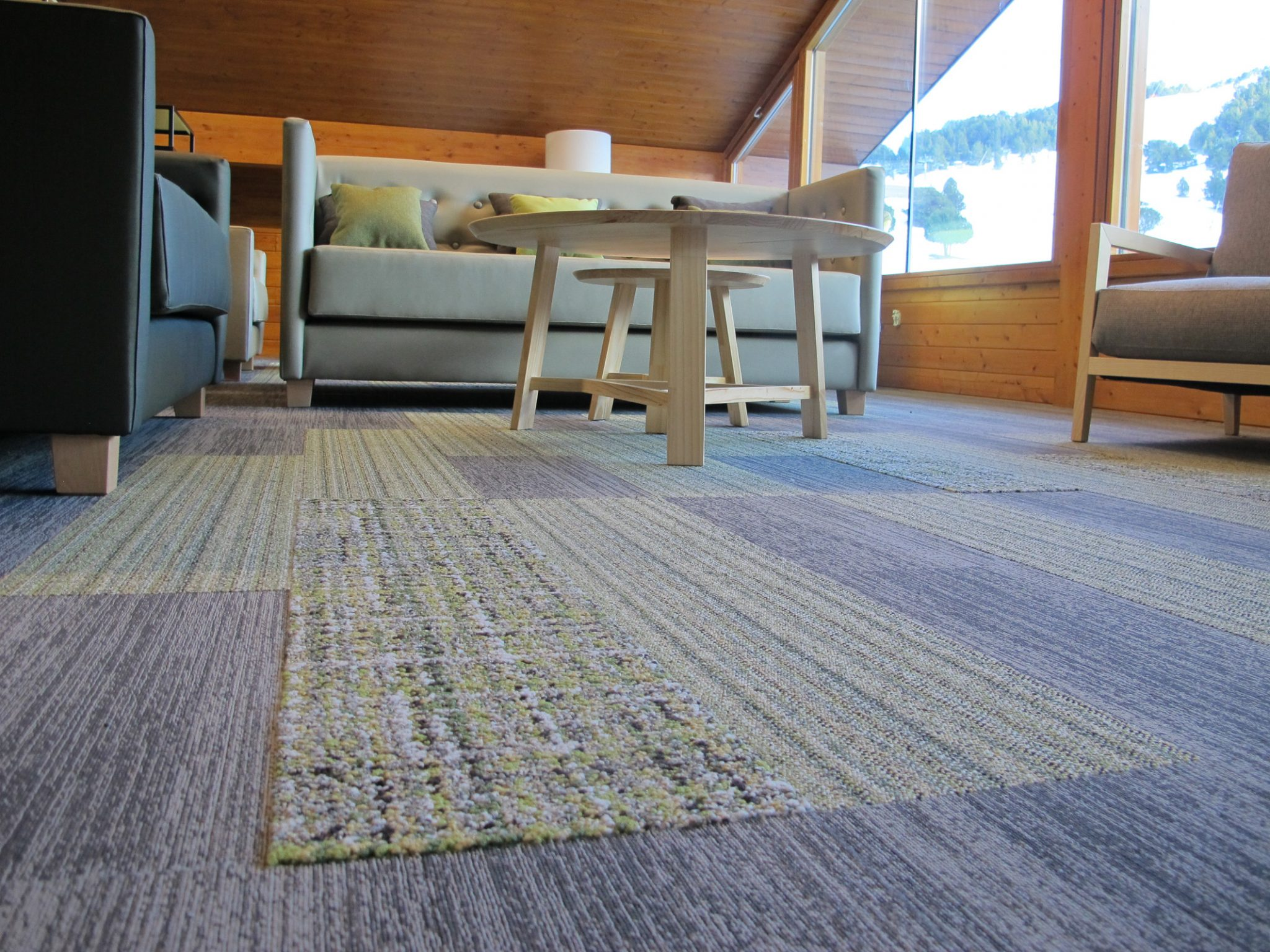 INTERFACE RUG LOUNGE by ROSA COLET