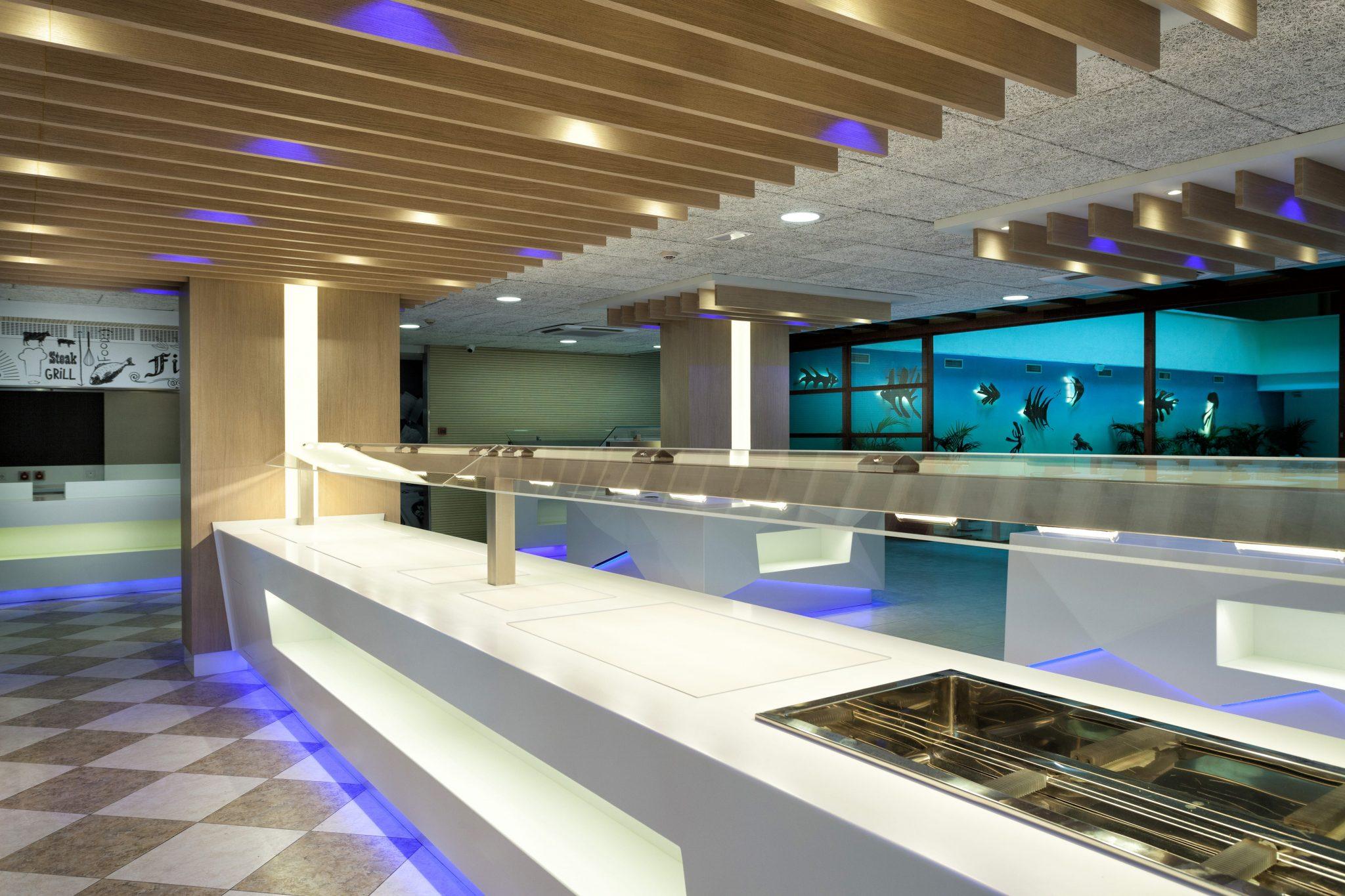 Buffet Restaurant Hotel Montemar Maritim Santa Susana Barcelona by Rosa Colet Design