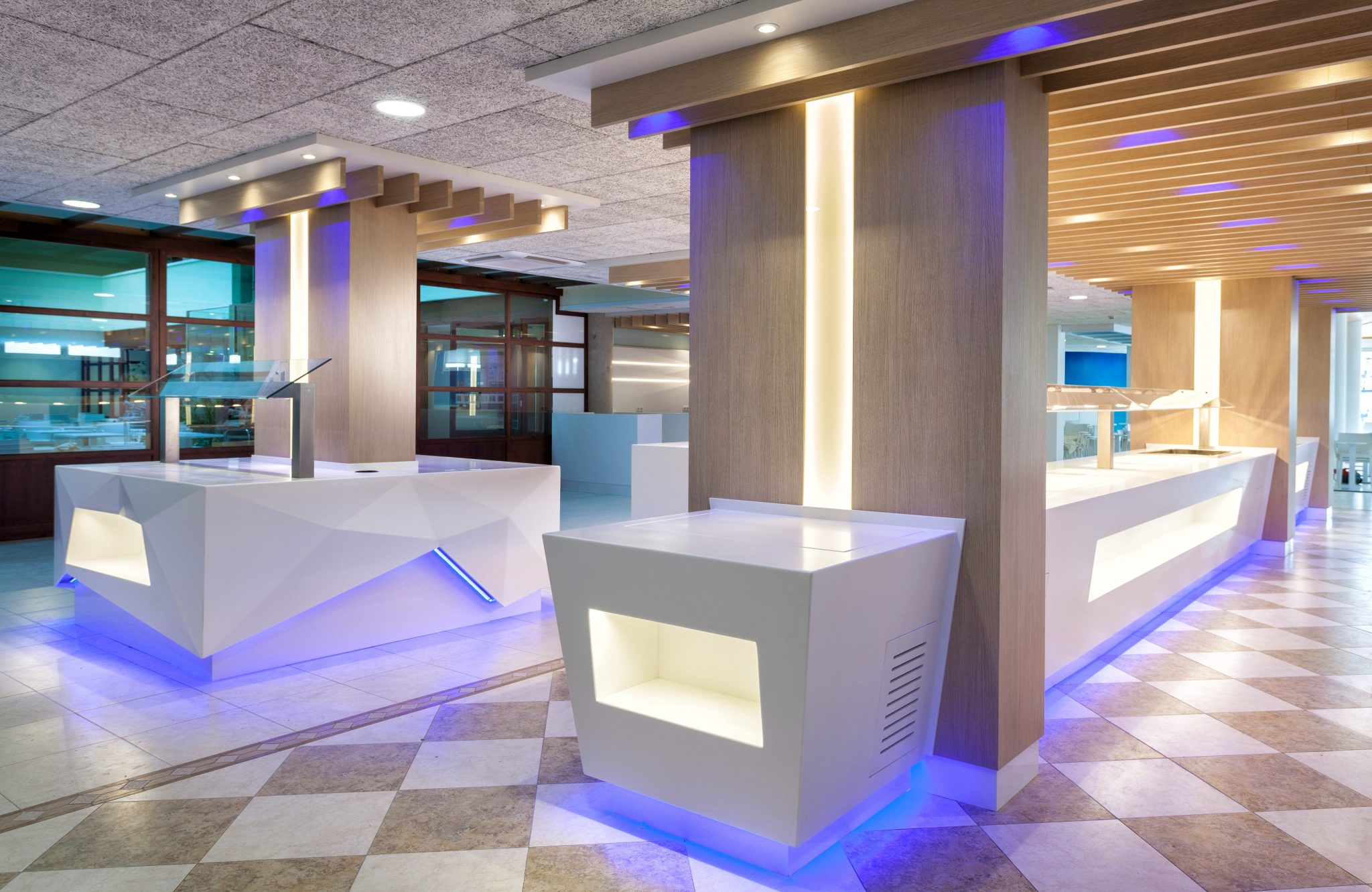 Buffet Hotel Montemar Maritim Santa Susana Barcelona by Rosa Colet Design