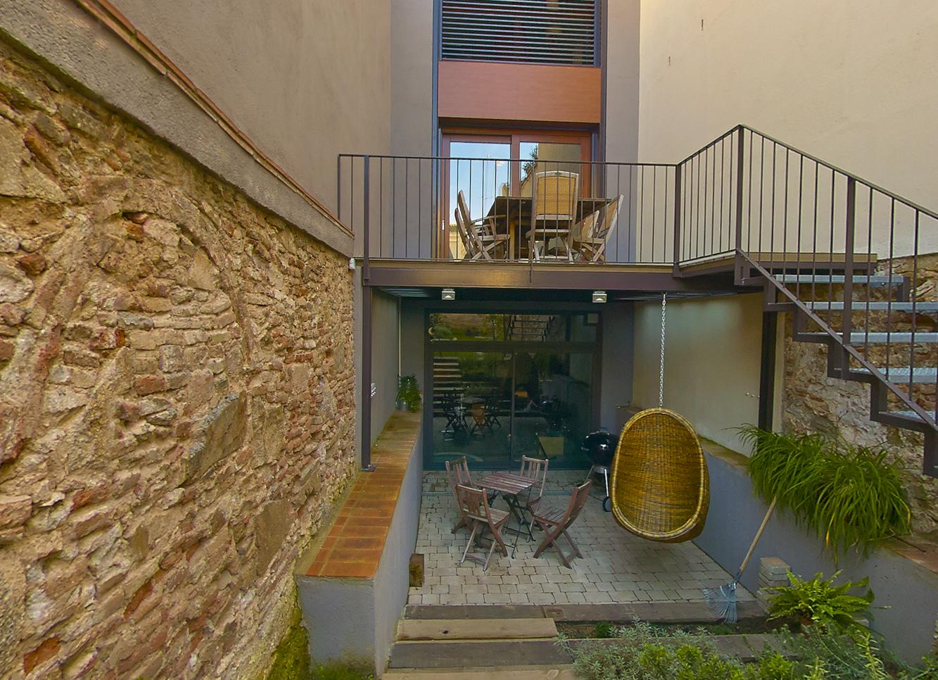 Patio Jardin Reforma e Interiorismo Casa en Badalona - Rosa Colet