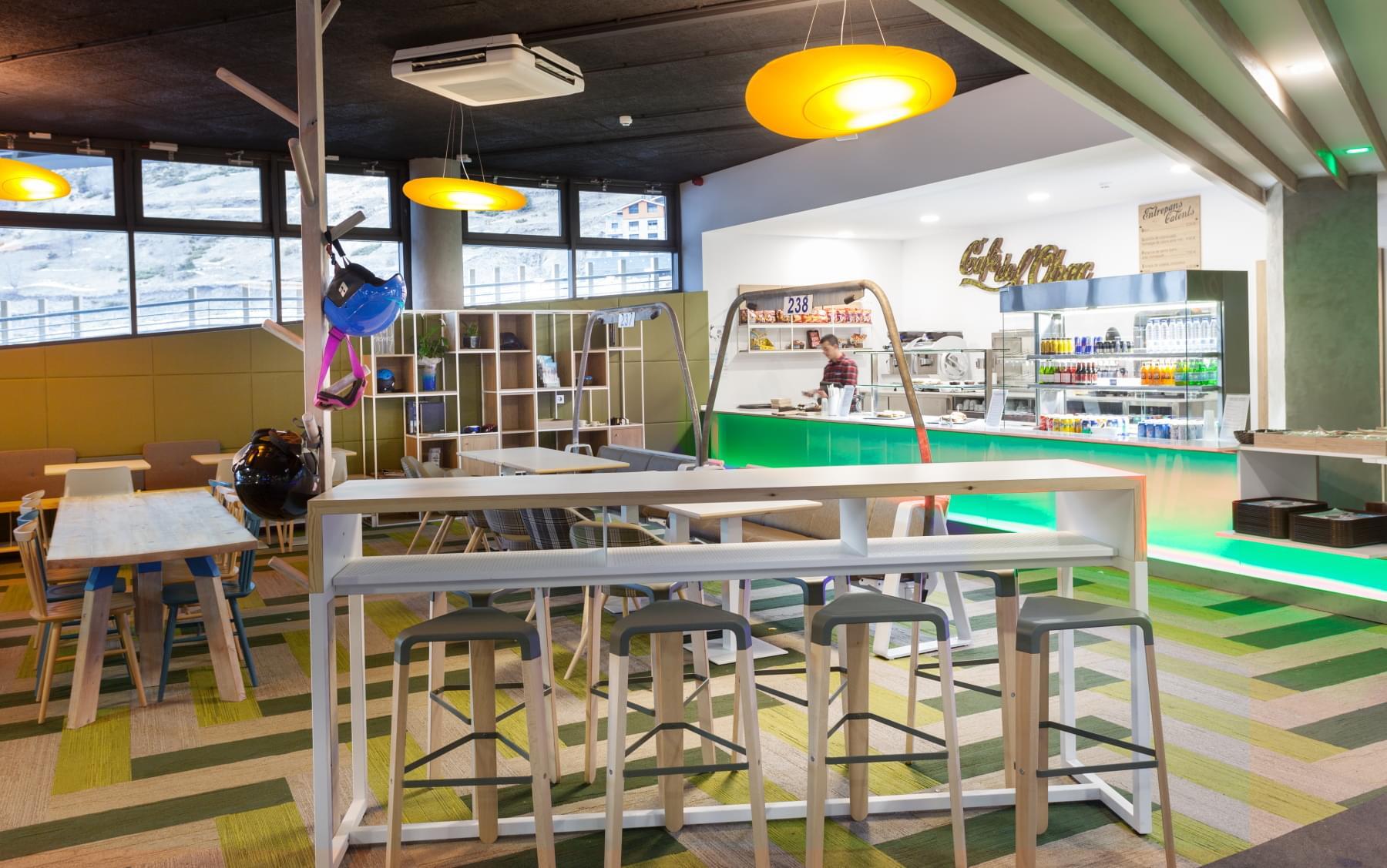 CAFETERIA EL TARTER GRANDVALIRA ANDORRA - CAFE DE L'OBAC by ROSA COLET