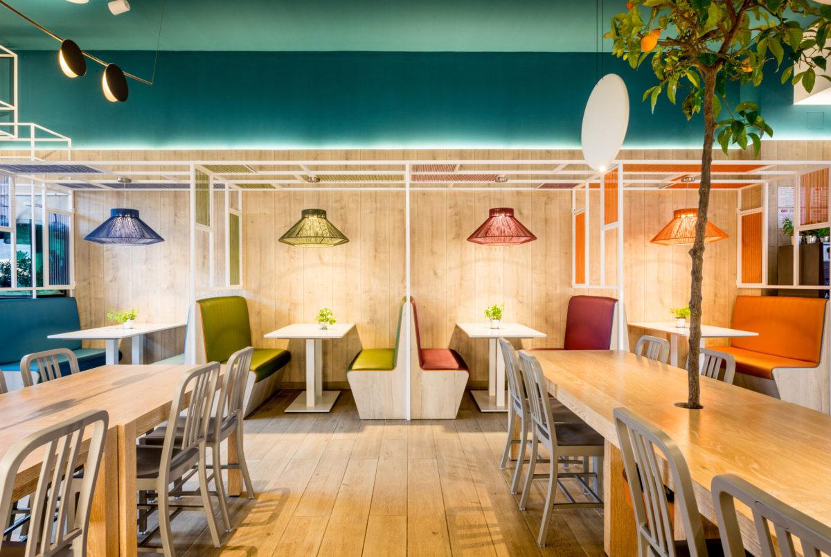 Restaurante Pizzeria Atlantida Mataro Parc - Rosa Colet Design