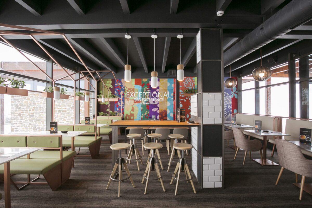 Restaurante Exceptional Tea Lounge Experience by Dilmah Grandvalira, Andorra - Rosa Colet