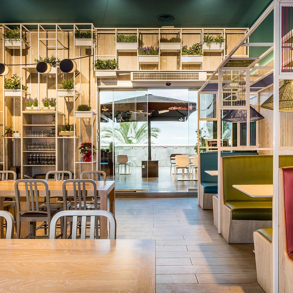 Atlantida Restaurant Mataro Parc by ROSA COLET