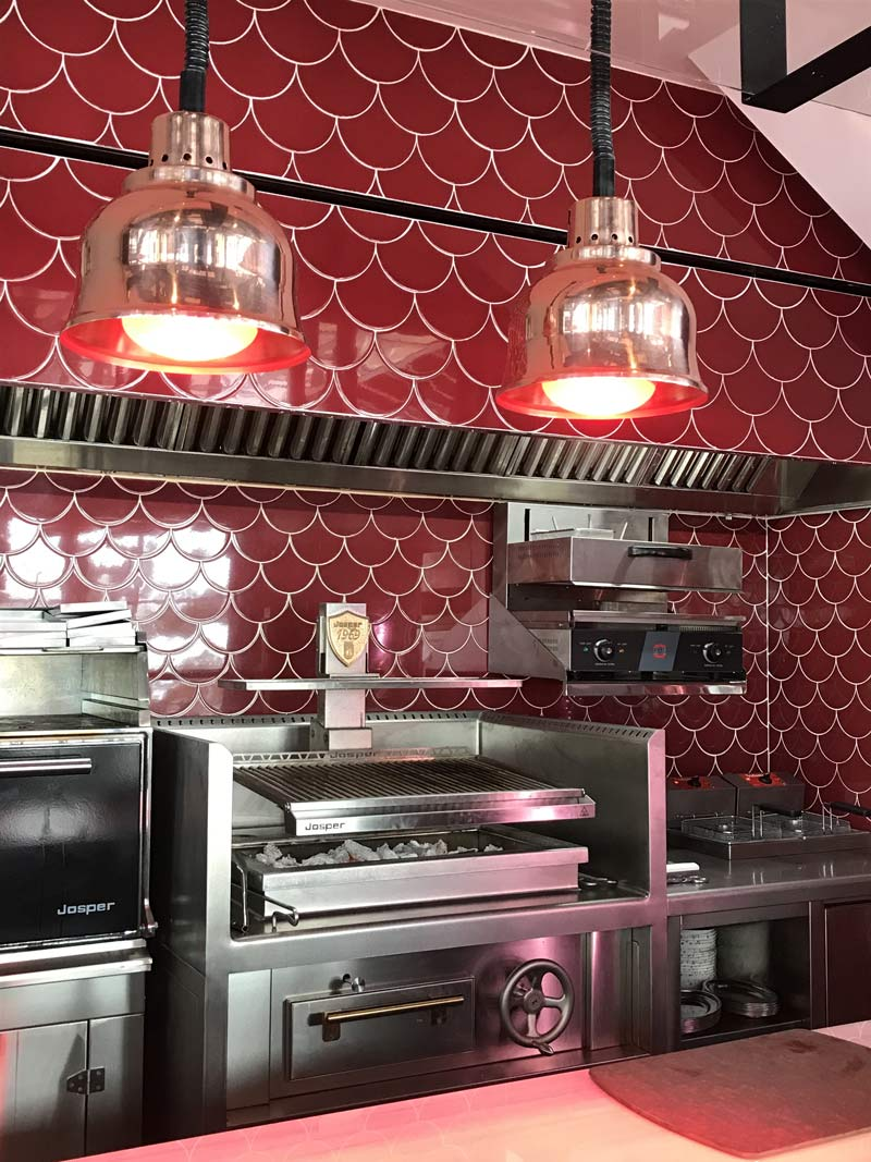 Josper Horno Restaurant Jean Leon Meat and Wine Bar Grandvalira, Andorra - Rosa Colet Design