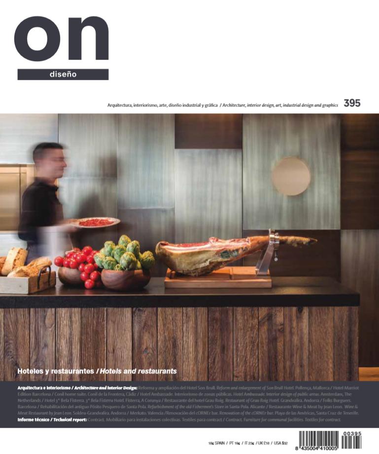 Publicación Revista ON Diseño - Rosa Colet Interior Design