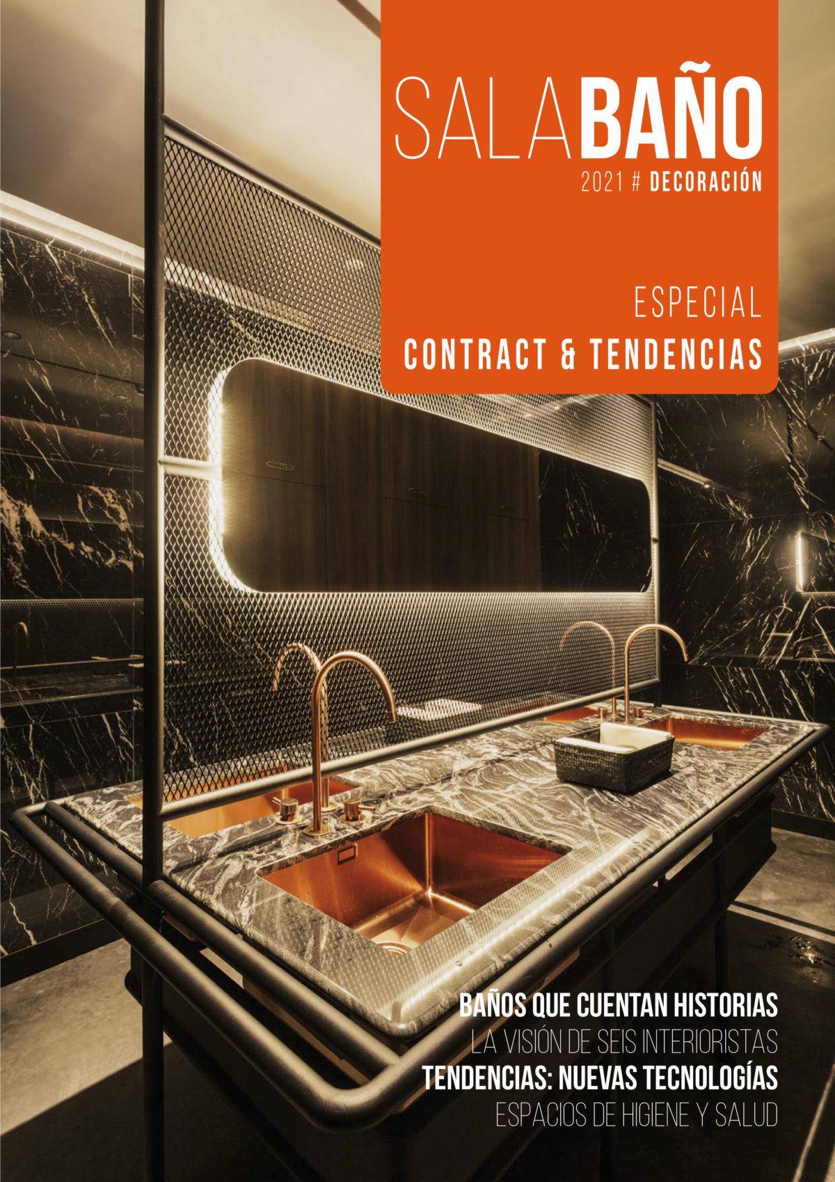 Revista Sala Baño especial Contract y Tendencias - Rosa Colet Interior Design Diseñadora Interiorista