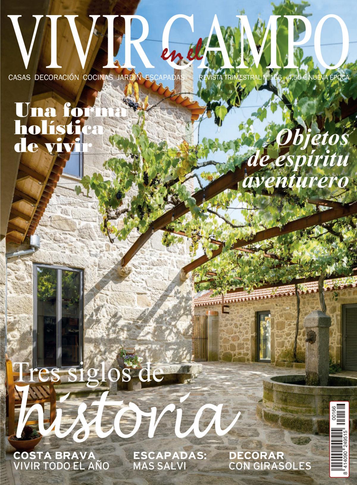 Rosa Colet - Vivir en el Campo revista - Proyecto Casa en Llafranc