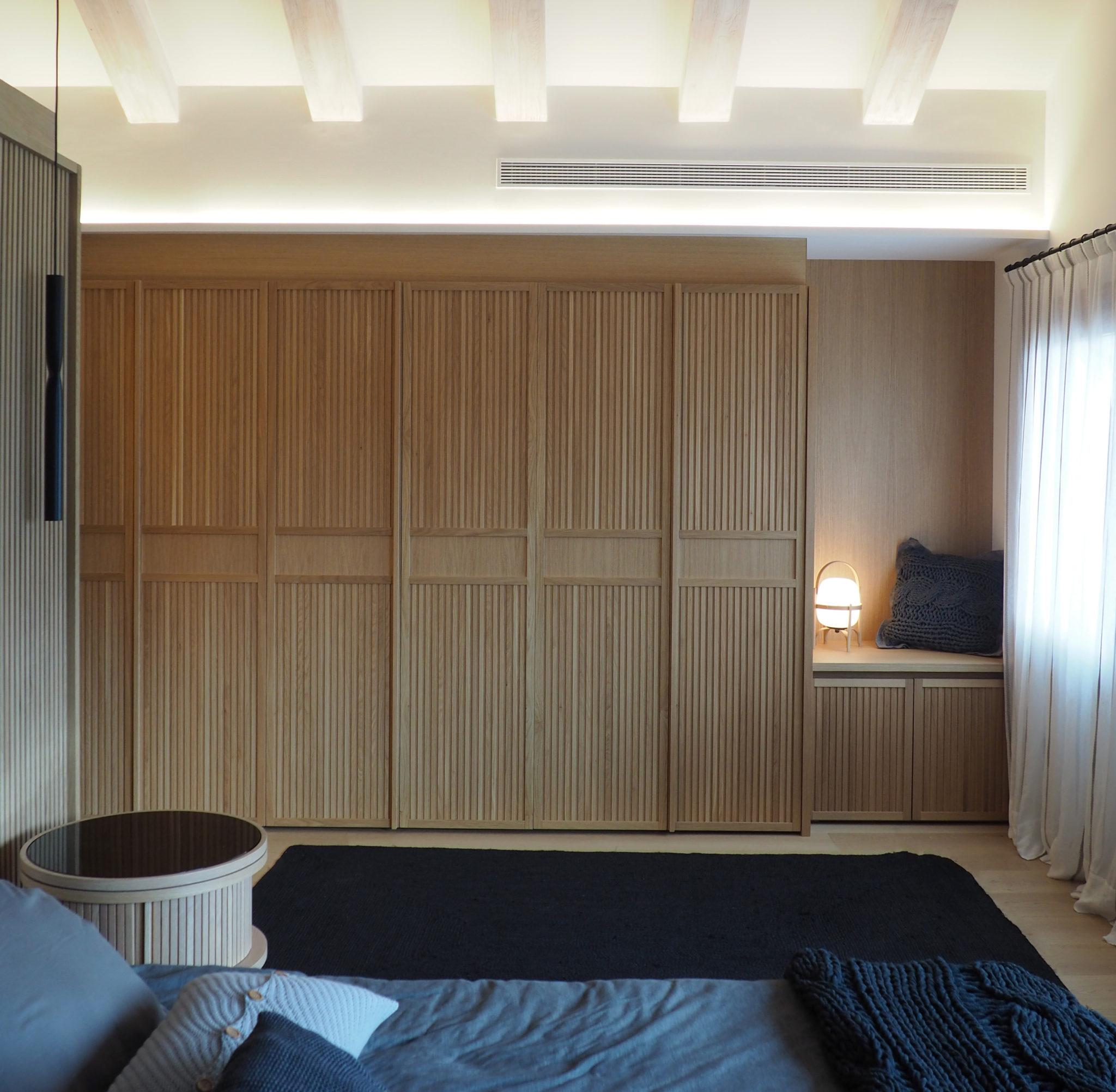 Mobiliario a medida diseño de Rosa Colet